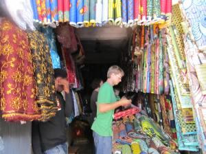 A fabric shop